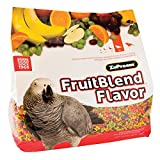 ZuPreem� FruitBlend with Natural Fruit Flavors Medium/Large Bird Food, 12 Lbs Multi Colored