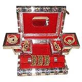 Shopnetix Jewellery Box With Meenakari Work