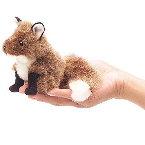 Folkmanis Mini Fox Finger Puppet - 1