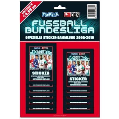 Topps TO880 - Fußball Bundesliga Saison 2009 / 2010 Multi-Pack