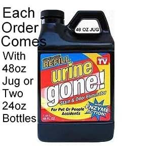 Urine Gone Refill 48 oz (One jug of 48 oz or 2 bottles of 24 oz)