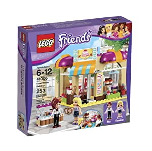 Amazon.com: LEGO Friends Downtown Bakery, 253 Pieces: Toys & Games