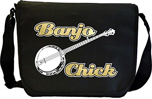 Banjo-Chick-Sheet-Music-Document-Bag-Musik-Notentasche-MusicaliTee