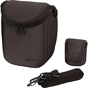 Sony LCS-BBF/B LCS-BBF/B Soft Carrying Case for Sony NEX series Camera (Black)