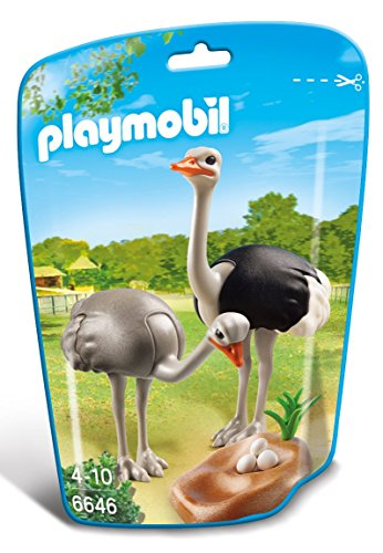 PLAYMOBIL Ostriches with Nest Building Kit