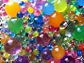 20000 beads (8oz) (250g) [Holiday special sale] MarvelBeads Water Beads Gel Pearls-12 Color Rainbow Mix-Makes 15-20 gallons of Beads -Great for Wedding decor, Home decor, Vase fillers, orbeez refill