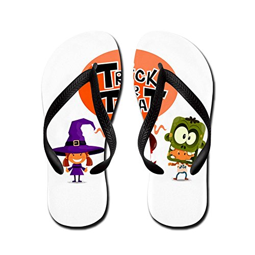 Royal Lion Kid's Halloween Trick or Treat Kids Rubber Flip Flops Sandals