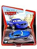 Disney Pixar Cars 2 Bindo # 37 (Bleu Maserati)