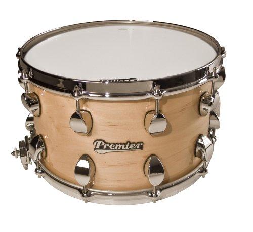 Premier Drums Series Elite 2848Splnl 1-Piece Maple 14X8 Inches Snare Drum, Drum Set (Natural)