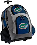 Florida Gators Rolling Backpack Deluxe Navy University of Florida - Backpacks Bags with Wheels or School Trolley Carry-On Suitcase Bags - Unique Gifts at Amazon.com