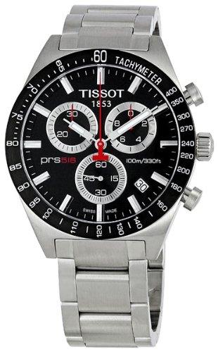 Tissot Men's TIST0444172105100 PRS 516 Black Dial Watch