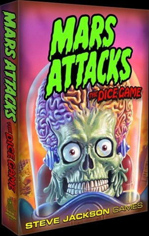 Steve Jackson Games 131335 Mars Attacks The Dice Game signed tfboys jackson autographed photo 6 inches freeshipping 4 versions 082017 e