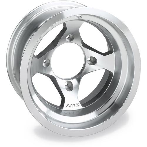 AMS Cast Aluminum UTV 12x7 Front Wheel - Machined,