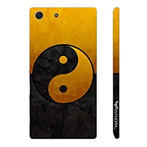 Sony Xperia M5 Good N Evil designer mobile hard shell case by Enthopia