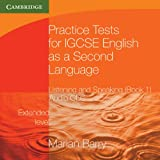 Marian Barry Practice Tests for IGCSE English as a Second Language: Listening and Speaking, Extended Level Book 1 Audio CDs (2) (Georgian Press)