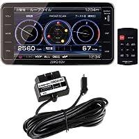 【Amazon.co.jp限定】コムテック(COMTEC)超高感度GPSレーダー探知機 ZERO83V & OBD2-R2セット ZERO 83VR