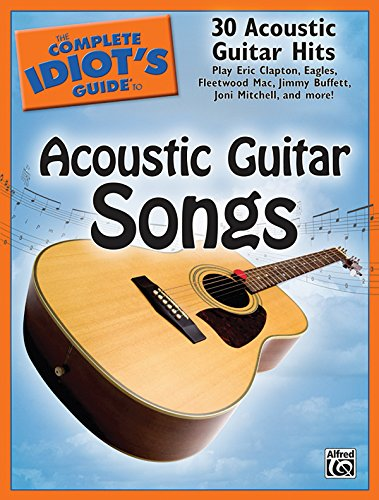 The Complete Idiot'S Guide To Acoustic Guitar Songs front-1058262