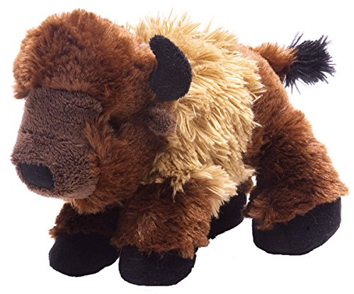 Wild Republic Hug Ems Bison Plush Toy - 1