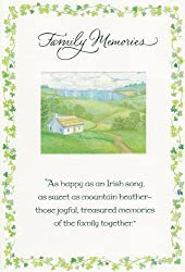 """Greeting Card St Patrick's Day """"Family Memories"""""""