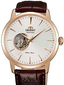 Orient Esteem 21-Jewel Automatic Dress Watch with Leather Strap DB08001W