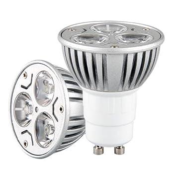 5 gu10 lampe ampoule bulb a a 3 led blanc chaud 3w 5 5 watts 12v luminaires et eclairage. Black Bedroom Furniture Sets. Home Design Ideas