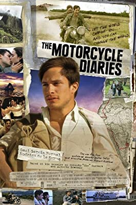THE MOTORCYCLE DIARIES MOVIE POSTER 2 Sided ORIGINAL 27x40