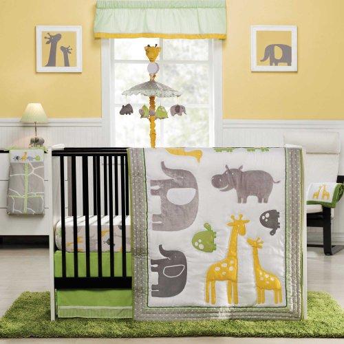 Zoo Animal Crib Bedding Sets