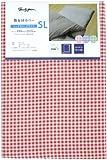 メリーナイト 敷布団カバー 「ギンガム」 SLサイズ 105×215cm レッド PC13101-13