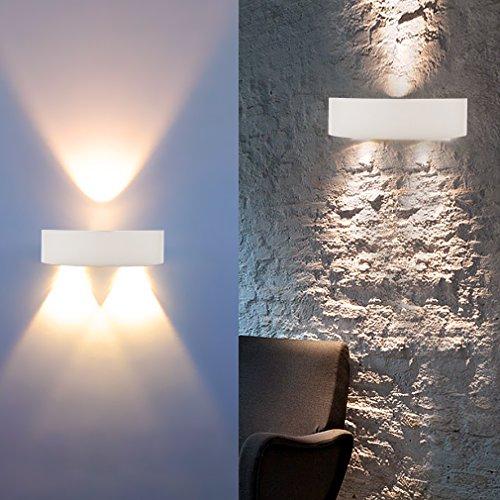 auralum modern designerlampen led wandleuchte 3w warmwei 300lm 2800 3200k elegent innenr ume. Black Bedroom Furniture Sets. Home Design Ideas