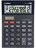 Canon AS-120R - Calculadora (Escritorio, Mostrar, Negro, Gris, 15,5 x 4,68 mm, 72,8 x 22,3 mm, 72,8 x 22,3 mm)