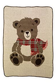 Green 3 Apparel Recycled USA-made Teddy Bear Throw
