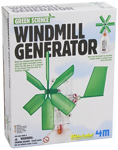 Green Science Windmill Generator By Toysmith front-1034244
