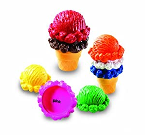 Learning Resources Rainbow Color Cones