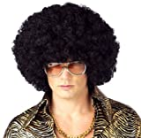 California Costume Men's Jumbo Afro Wig, Black, ADULT Picture