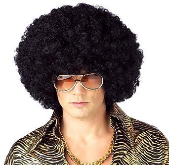 California Costume Men's Jumbo Afro Wig, Black, ADULT