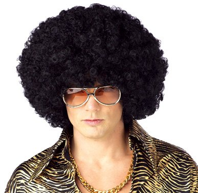 California Costume Men's Jumbo Afro Wig