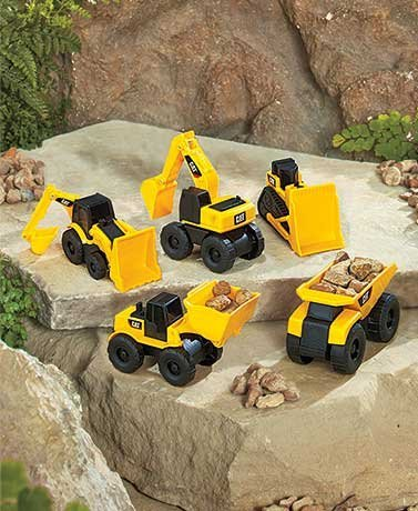 5-pack Mini CAT® Machines (Packaging May Vary) (Toystate Mini Machines compare prices)