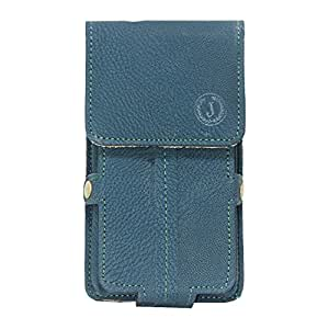 Jo Jo A6 G8 Series Leather Pouch Holster Case For Elephone Trunk Dark Blue