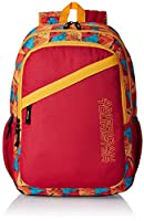 American Tourister Hashtag Red Casual Backpack (Hashtag 04_8901836130850)