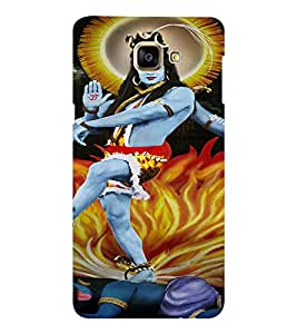 EPICCASE Lord Shiva Mobile Back Case Cover For Samsung Galaxy A9 (Designer Case)