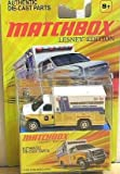 Matchbox 2011 Lesney Edition, Ford E-350 Ambulance. 1:64 Scale.