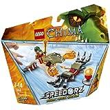 Lego Legends Of Chima-speedorz - 70150 - Jeu De Construction - Cragger - Challenge - Les Griffes De Feu