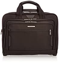 Briggs & Riley @ Work Luggage Expandable Rolling Brief, Black, One Size