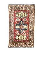 Eden Carpets Alfombra Uzebekistan Rojo/Azul/Marrón 183 x 109 cm