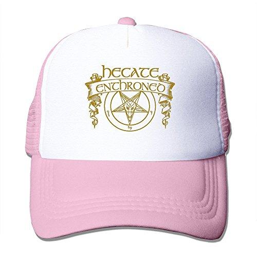 xcarmen Black Hecate Enthroned virulent Rapture Band snapback Vintage Snapbacks rosa