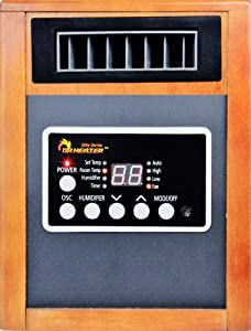 Dr Infrared Heater DR928 Music Heater with with AM/FM Radio
