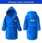 Personalised Children's Hooded Toweli...