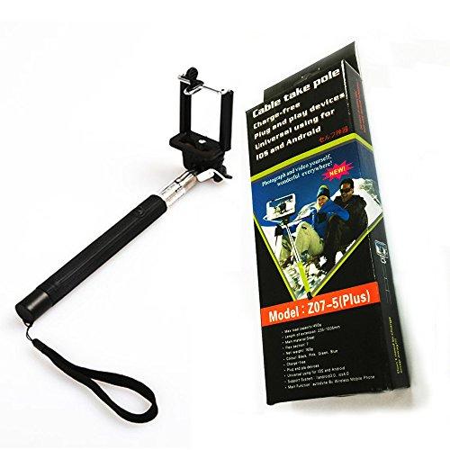 selfie stick bengoo extendable monopod no bluetooth pairing no battery charging remote control. Black Bedroom Furniture Sets. Home Design Ideas