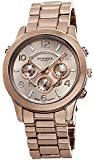 Akribos XXIV Women's AK648RG Ultimate Swiss Multifunction Rose-Tone Bracelet Watch