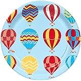 Hot Air Balloon Party Dessert Plates (8)